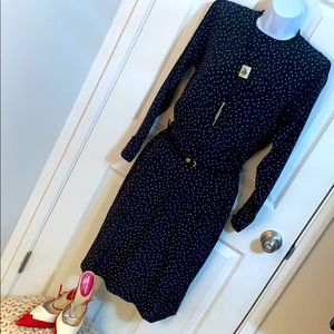 Vintage Liz Claiborne Polka Dot Dress